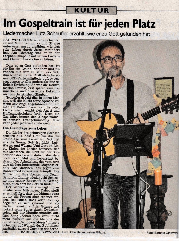 Liederabend Bad Windsheim