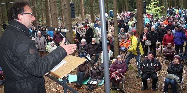Freiluftgottesdienst in Stützengrün