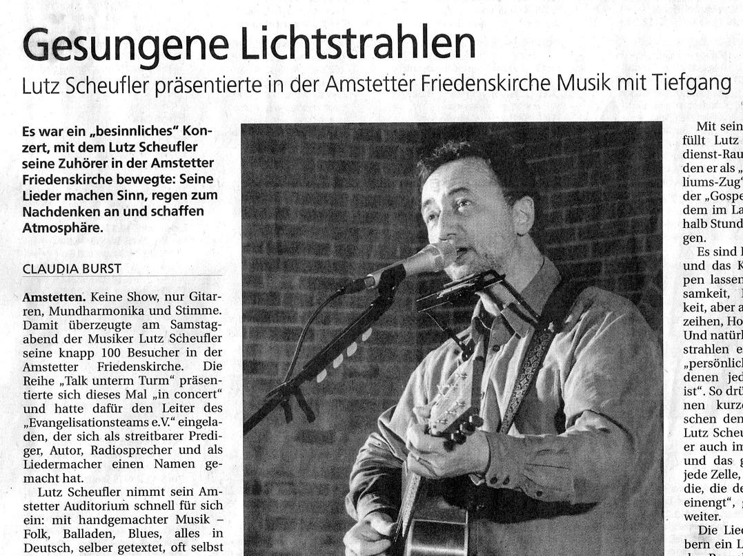 Konzert in Amstetten